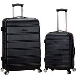 Rockland Luggage 2 Piece Expandable Spinner Set