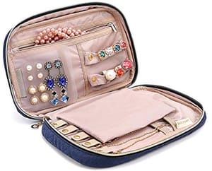 BAGSMART Travel Jewelry Organizer