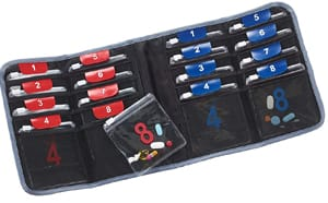 Lewis N. Clark AM\PM Folding Travel Pill Organizer