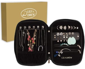 Lily and Drew Travel Jewelry Organizer