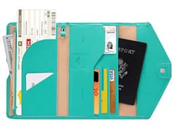 No 12. Zoppen RFID Blocking Travel Passport Wallet