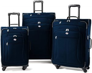 american tourister 3 piece luggage sets